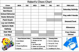 10 best images of daily chore chart for toddler printable daily