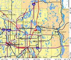 white bear lake minnesota mn 55110 profile population maps