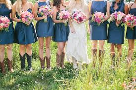bridesmaid cowboy boots archives southern weddings