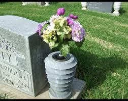 cemetery vase cemetery vases etsy