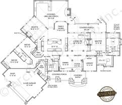 lodge house plans henry approved amicalola river lodge cottage house plan first
