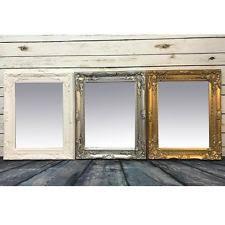 wooden frame bathroom mirrors ebay