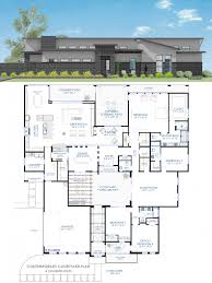 small house plans with courtyards floor plan friday 4 bedroom rumpus contemporary courtyard
