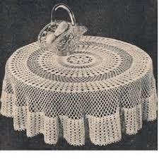 Crochet Table Cloth Pattern Crochet Tablecloth Oval Crochet Free Patterns Pontos