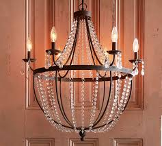 Candle Chandelier Pottery Barn Quinn Chandelier Pottery Barn