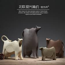 Cow Home Decor Aliexpress Buy Dairy Cow Ceramic Creative Milk Cow Home