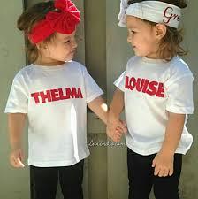 White T Shirt Halloween Costume Ideas Thelma And Louise Kids U0027 Group Halloween Costume Ideas