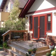 Backyard Small Deck Ideas Small Deck Idea Steps All Around To Another Level Of Pavers Or