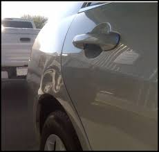 2010 nissan altima coupe quarter panel paintless dent repair pdr before and after pictures acurazine