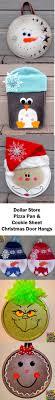rudolph dollar store pizza pan ornament kid friendly