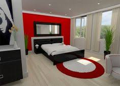 Beauteous  Bedroom Ideas Red And White Inspiration Of - White and red bedroom designs