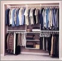 how to make inexpensive closet organizers part 1