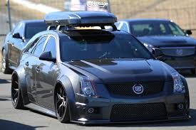 850hp cadillac cts v wagon on vossen vfs 2 qrides pinterest