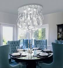 Crystal Light Fixtures Dining Room - crystal lighting ideas and designs for glamorous dining rooms abpho