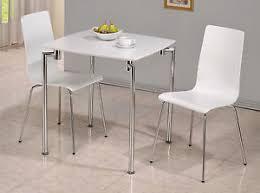 white square kitchen table dining kitchen table set white gloss finish small square top chrome