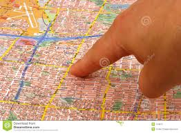 on a map finger on a map stock photo image 144610