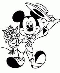 printable mickey mouse coloring pages disney coloring pages free printable mickey mouse coloring pages