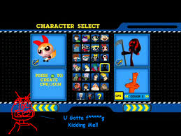 network punch time explosion the sequel cn pte xl character list by djwill on deviantart