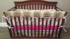 Minky Crib Bedding Crib Bedding Antique Floral Barnwood And Fawn Minky Dbc