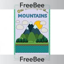 story mountain template planbee freebees