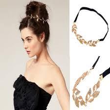 gold leaf headband new fashion gold leaf headband grecian garland forehead