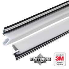 Magnetic Door Stop Home Depot by 84 In Platinum White Collection Door Weatherstrip Replacement