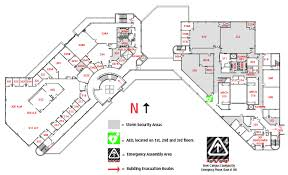 Security Floor Plan Commons Building Map Com