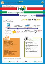 Palawa Ugm Informasi Pendaftaran Islamic Sociopreneur Development Program