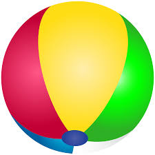 beach ball transparent clip art image cliparting com