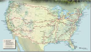 Virginia Railway Express Map by Round And Round My World August 2016