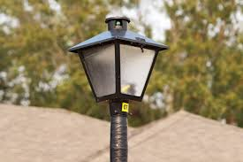 utility pole light fixtures street and area lights electric development engineering and