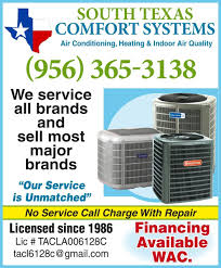 Quality Comfort Systems South Texas Comfort Systems Central Air And Cooling Air