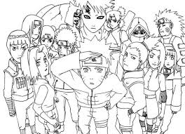 naruto coloring picture naruto coloring pages