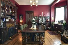 Heritage Home Design Montclair Nj Oval Dining Room In The Kellogg House At The Heritage Museum Of