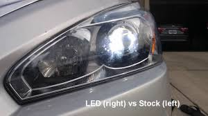 nissan altima 2013 jdm alla lighting a9 led headlight h11 bulbs unboxing and quick view