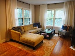 thrifty little blog living room rug change