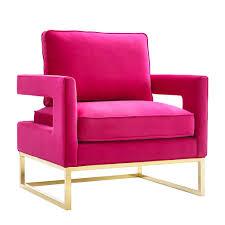 avery velvet chair