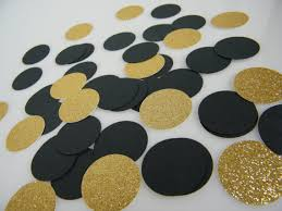 black and gold centerpieces for tables confetti gold glitter black table confetti scatter black