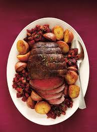 cuisiner roti de boeuf rôti de boeuf aux épices d automne et betteraves chaudes ricardo