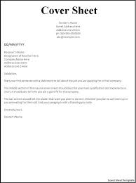 resume cover page resume templates