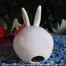 bunny cotton holder white bunny cotton dispenser or holder for bath vanity