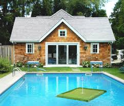 Pool House Pool Houses Art Studios Guest Cottages The Hampton U0027s Must Haves