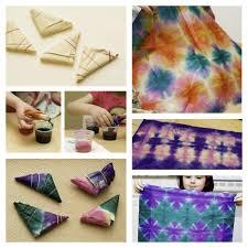 rainbowsandunicornscrafts diy tie dye tissue paper using food