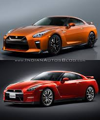 nissan gtr skyline 2015 2017 nissan gt r vs 2015 nissan gt r old vs new