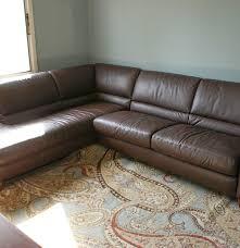 Sectional Sleeper Sofa Italsofa Leather Sectional Sleeper Sofa Ebth