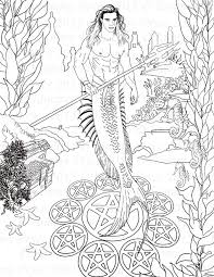fantasy coloring pages archives art tammy pryce