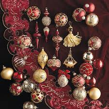 60 pc joyeux noel ornament collection ornaments frontgate