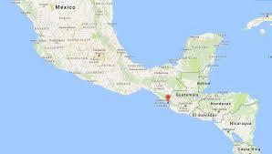 Chiapas Mexico Map The Rick Tastic Mexico