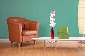 decoration fresh green interior paint color design combined with