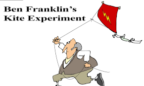ben franklin u0027s kite experiment resources surfnetkids